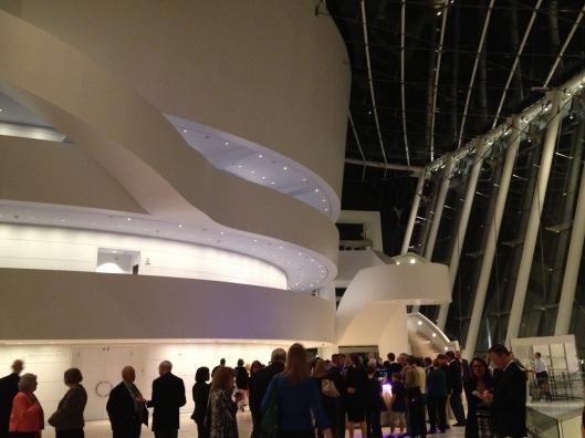 Guggenheim-esque staircase.