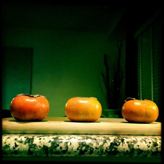 persimmon trio