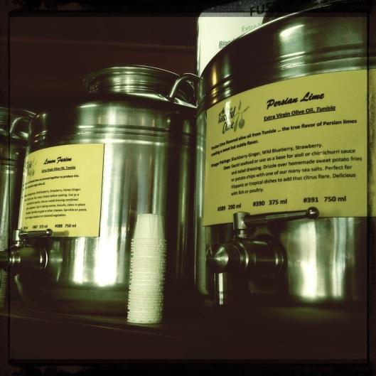tasteful olive vats