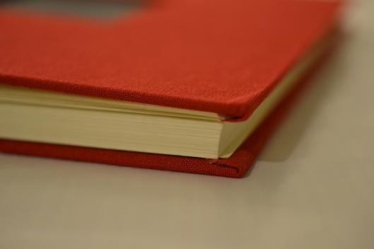 corner of book