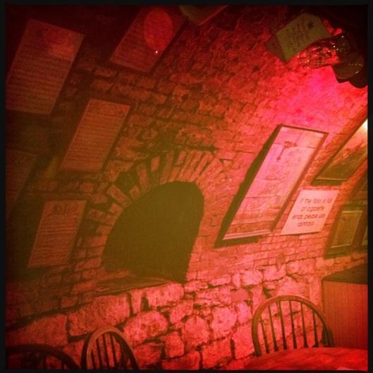 inside cellar