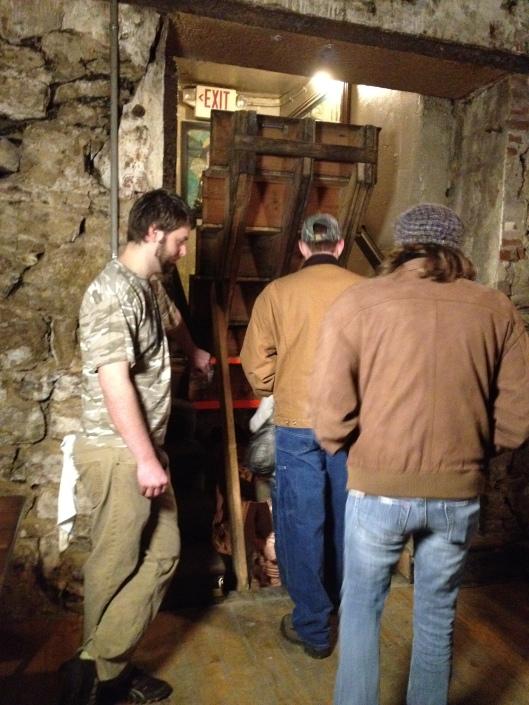 secret cellar
