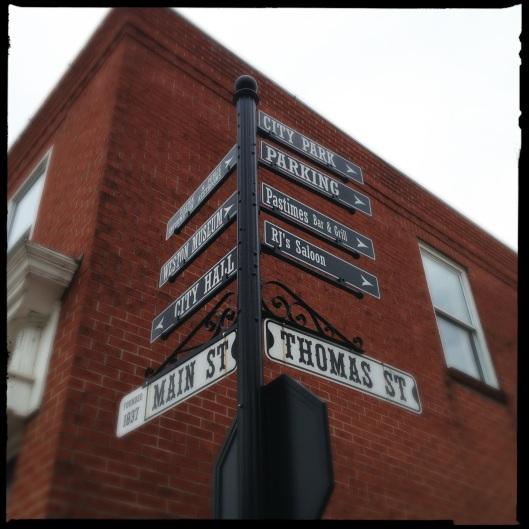 street sign 1