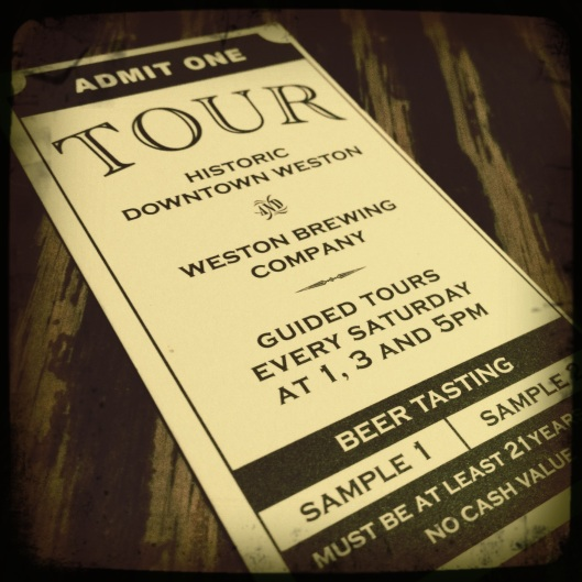 tour ticket