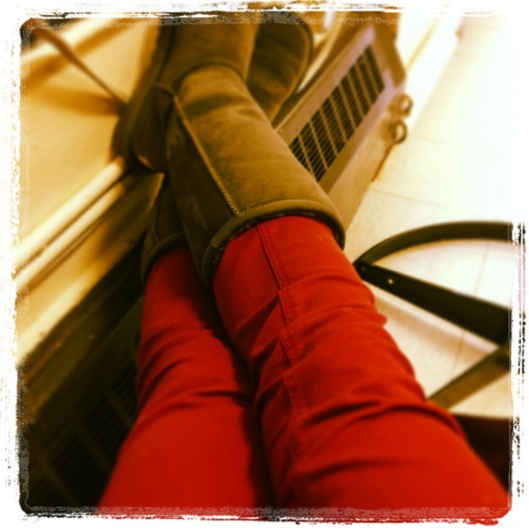 Red pants for EQUALITY!