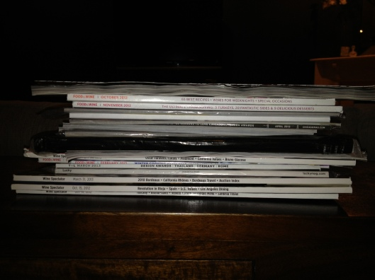 The newest pile which hasn't even made it's way to the growing stack! It's never ending!